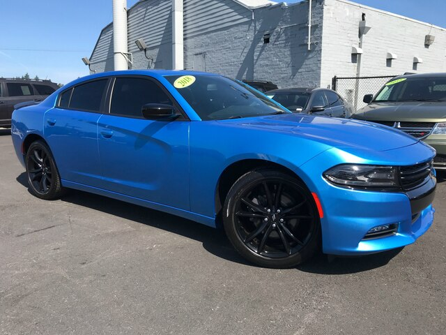 Pre Owned 2018 Dodge Charger Sxt Plus Sedan In Tacoma D190150a